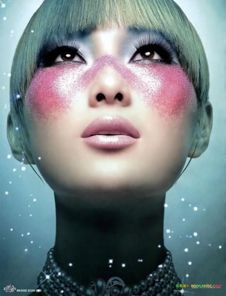 Как сделать китайский макияж фото 173