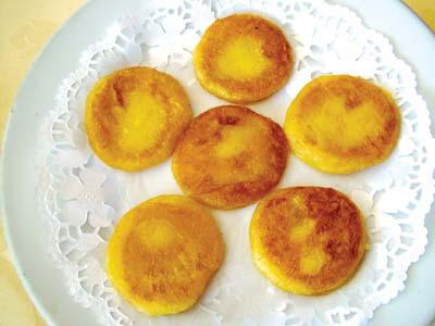 Сладкие закуски из батата