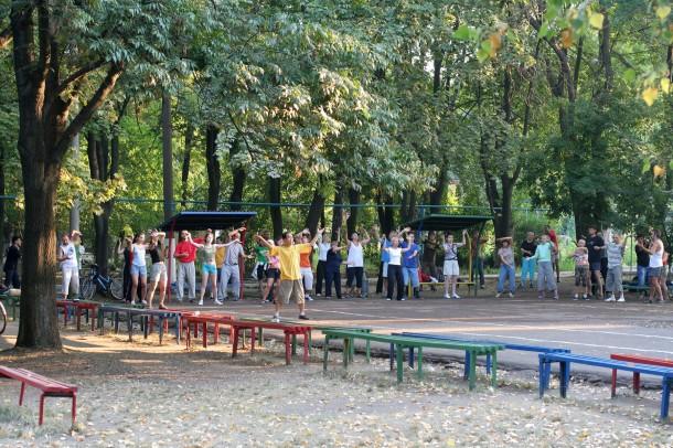 Ежегодный, семинар, по, традиционному, ушу, в, Одессе, с, Мастером, Му, Юйчунем